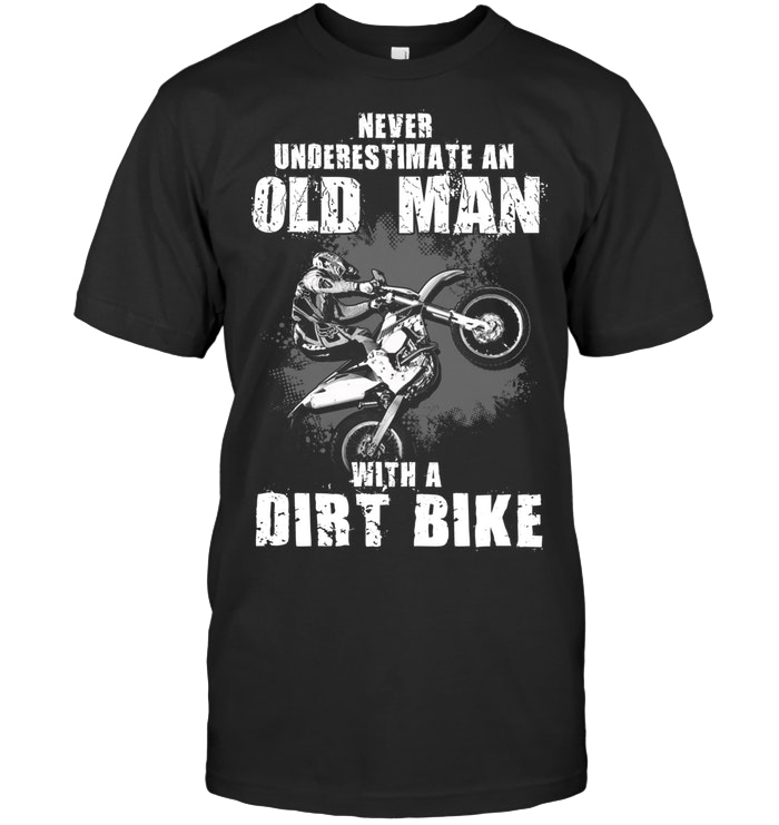 Old Man with Dirt Bike 1