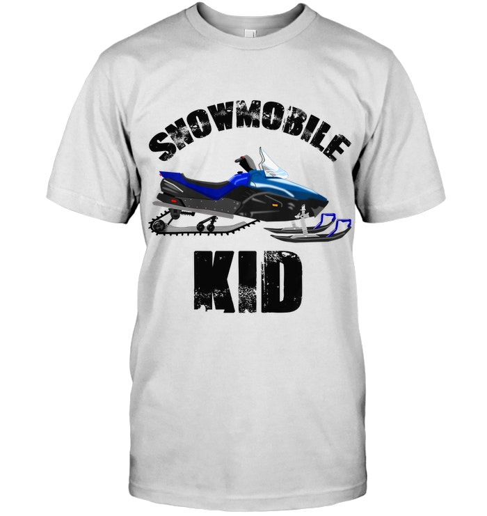 Cool Snowmobile Kid 1